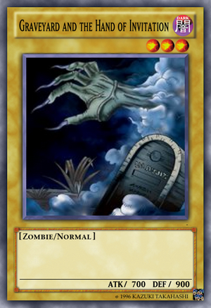 Graveyard and the Hand of Invitation