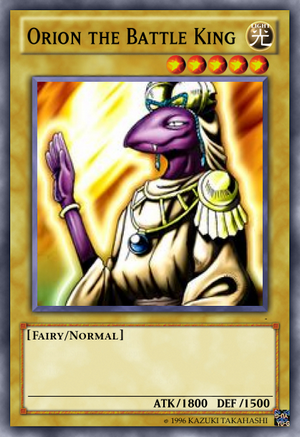 Orion the Battle King